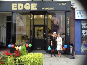 Edge Hairdressing Salon on Allerton Road, the bustling heart of South Liverpool.