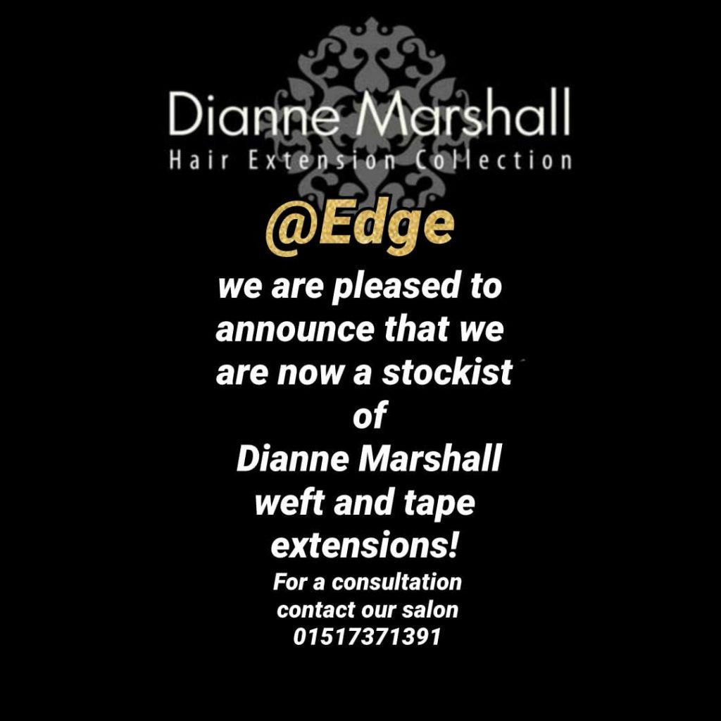 Dianne Marshall Hair Extensions stocked at Edge Hair, Allerton, Liverpool